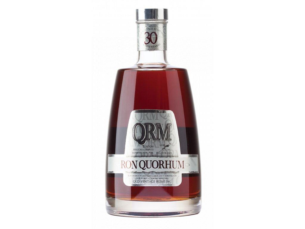 rum Quorhum 30yo Aniversario bottle