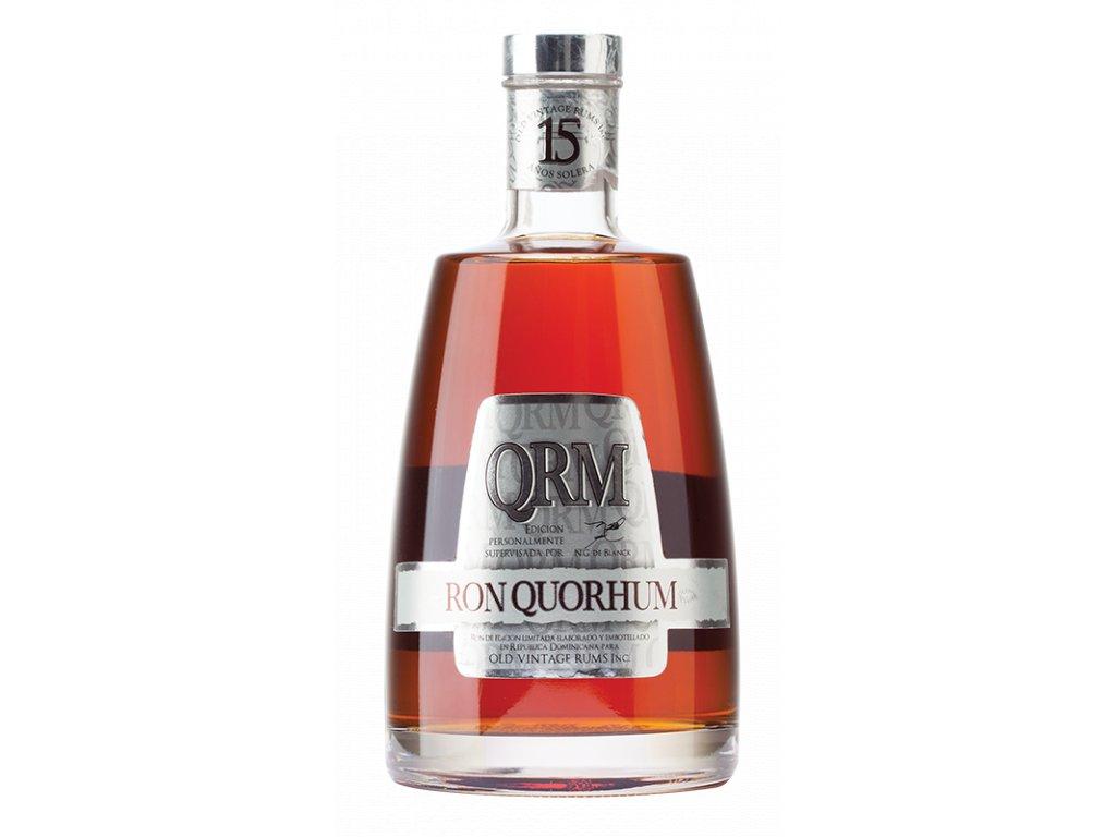 rum Quorhum 15yo bottle