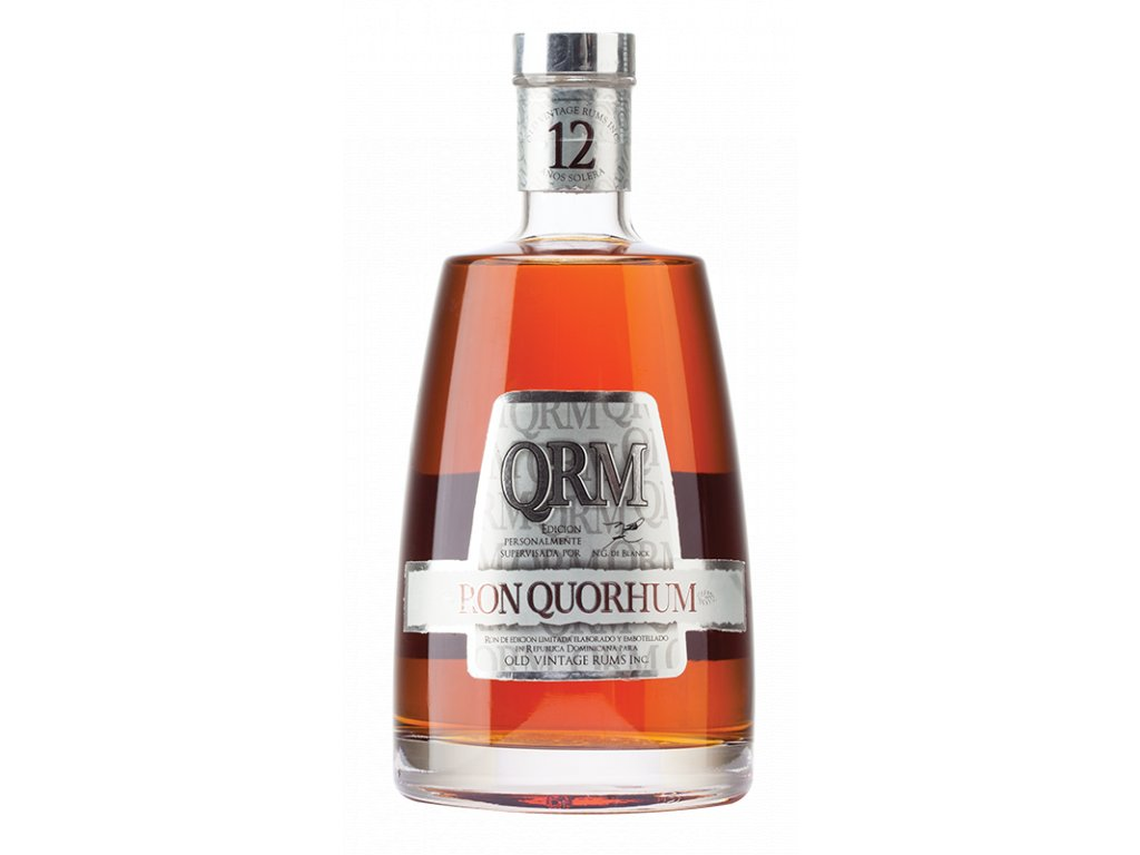 rum Quorhum 12yo bottle