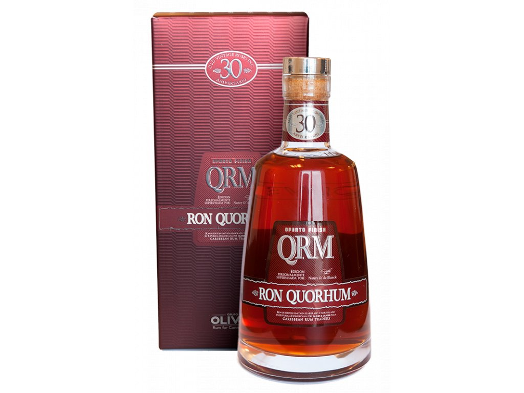 rum Quorhum 30 Aniversario Oporto Finish Limited giftbox