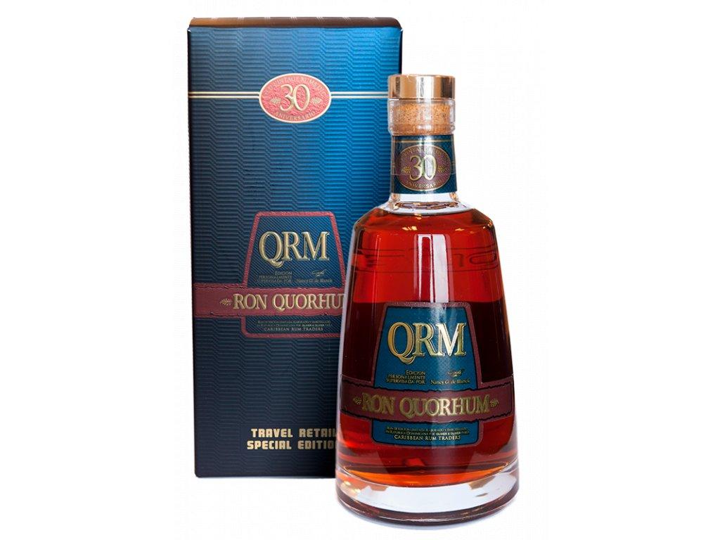 rum Quorhum 30 Aniversario Sherry Finish Limited giftbox