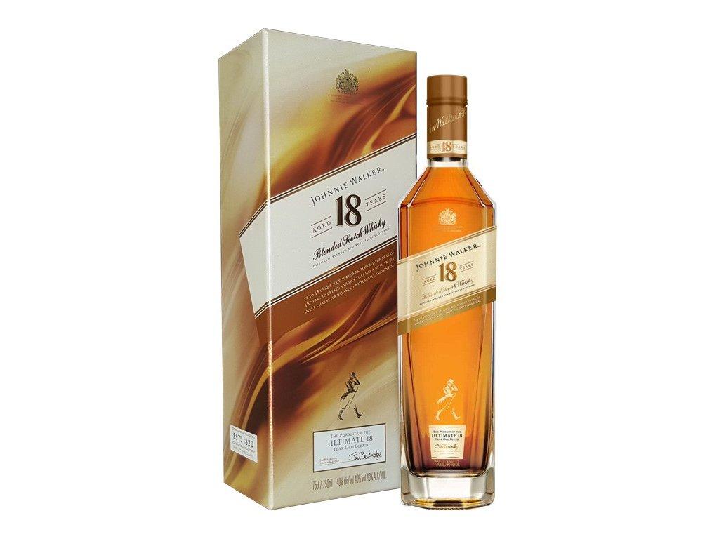 whisky johnnie walker 18yo iltimate