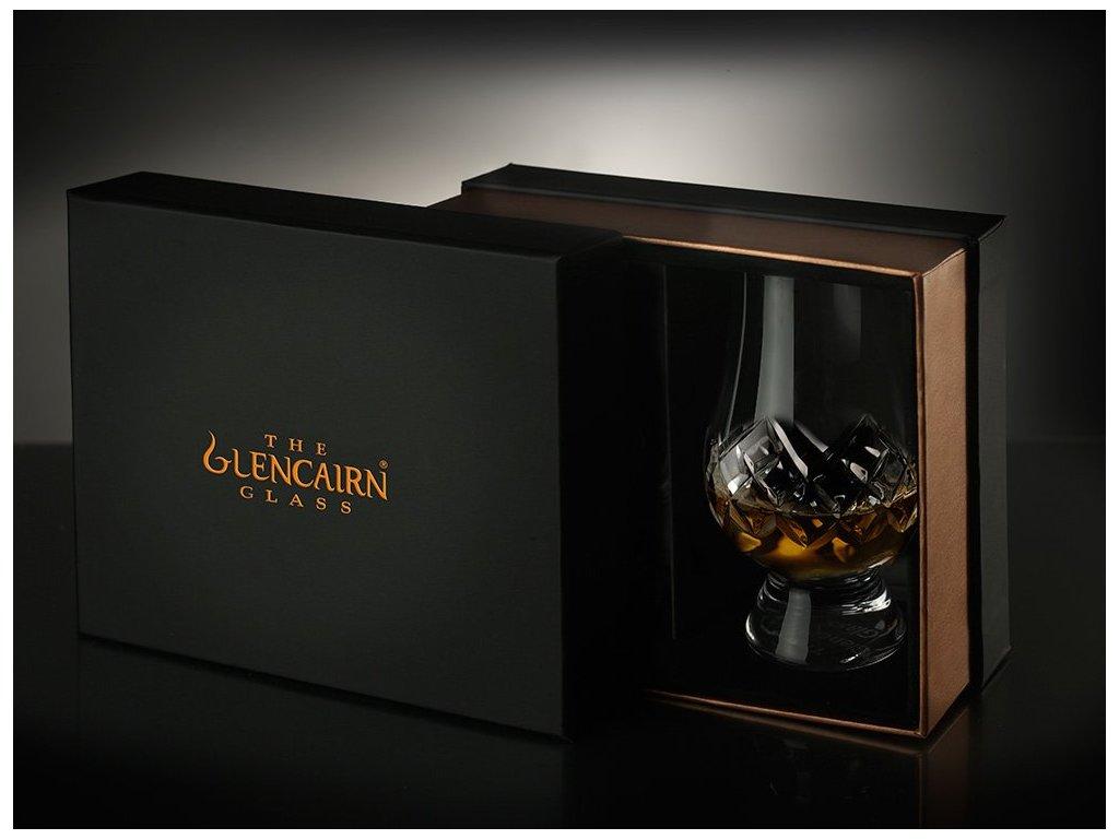 whisky glass glencairn cut premium box