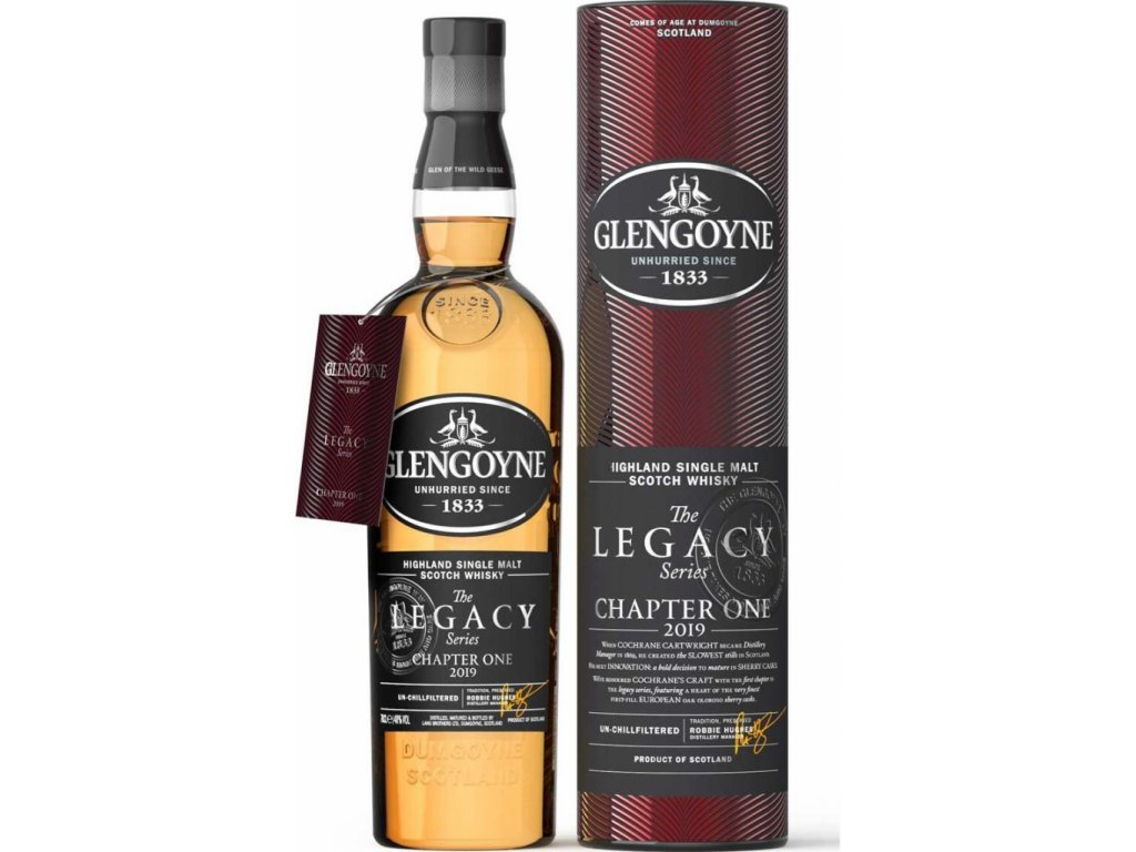 whisky glengoyne legacy series chapter 1