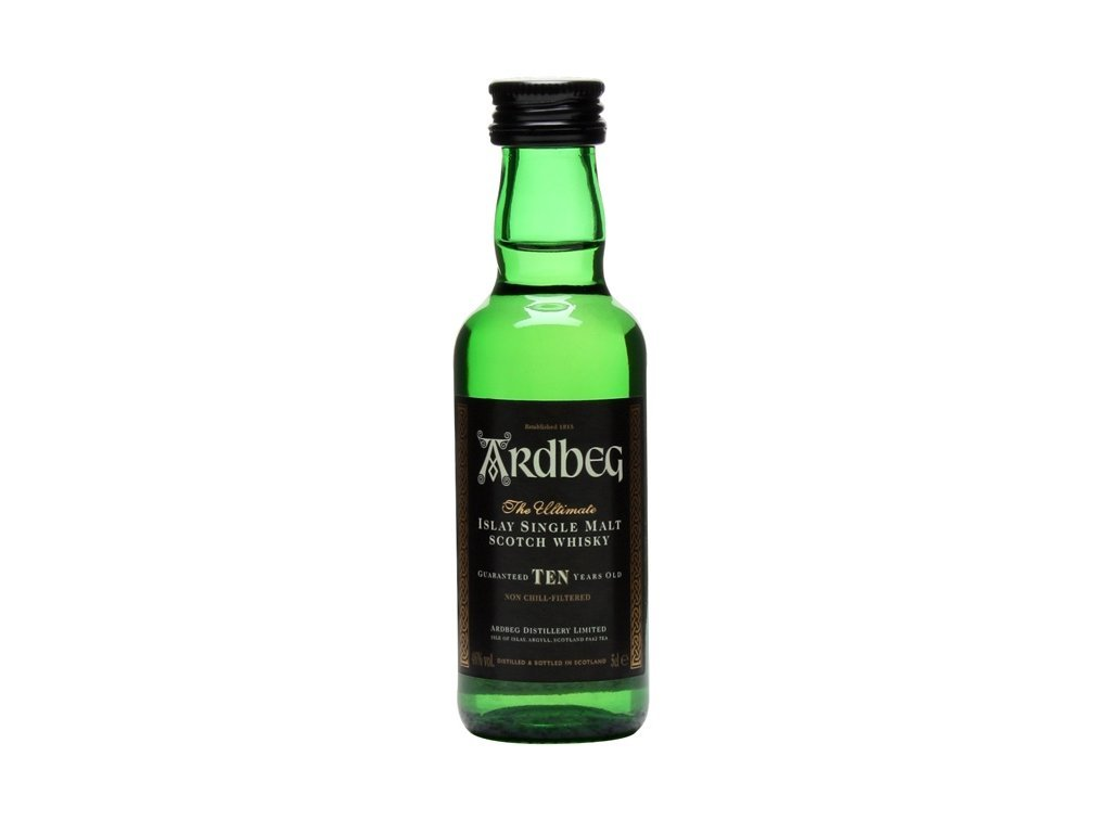 whisky ardbeg 10yo mini
