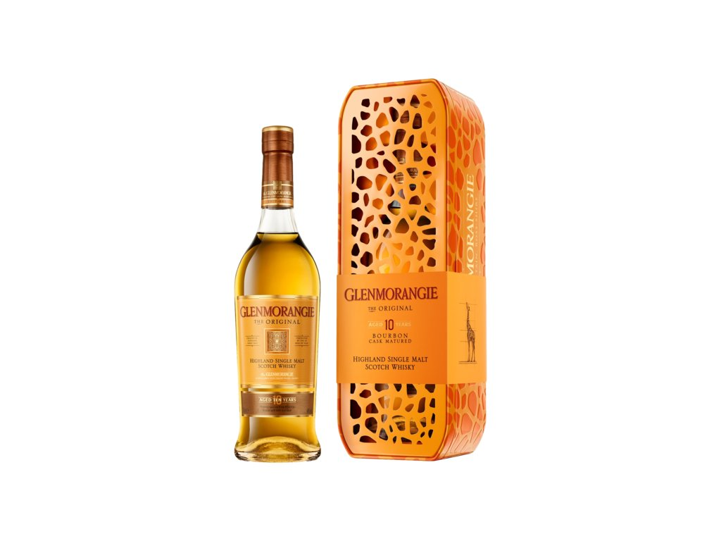 whisky glenmorangie original giraffe giftbox