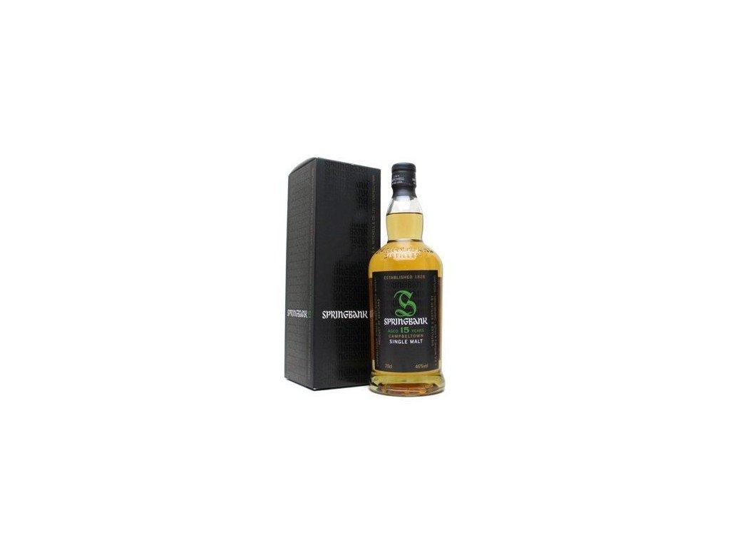 skotska single malt whisky springbank 15 yo giftbox