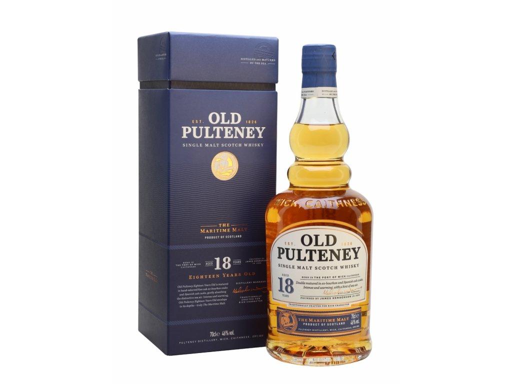 whisky old pulteney 18yo new gb
