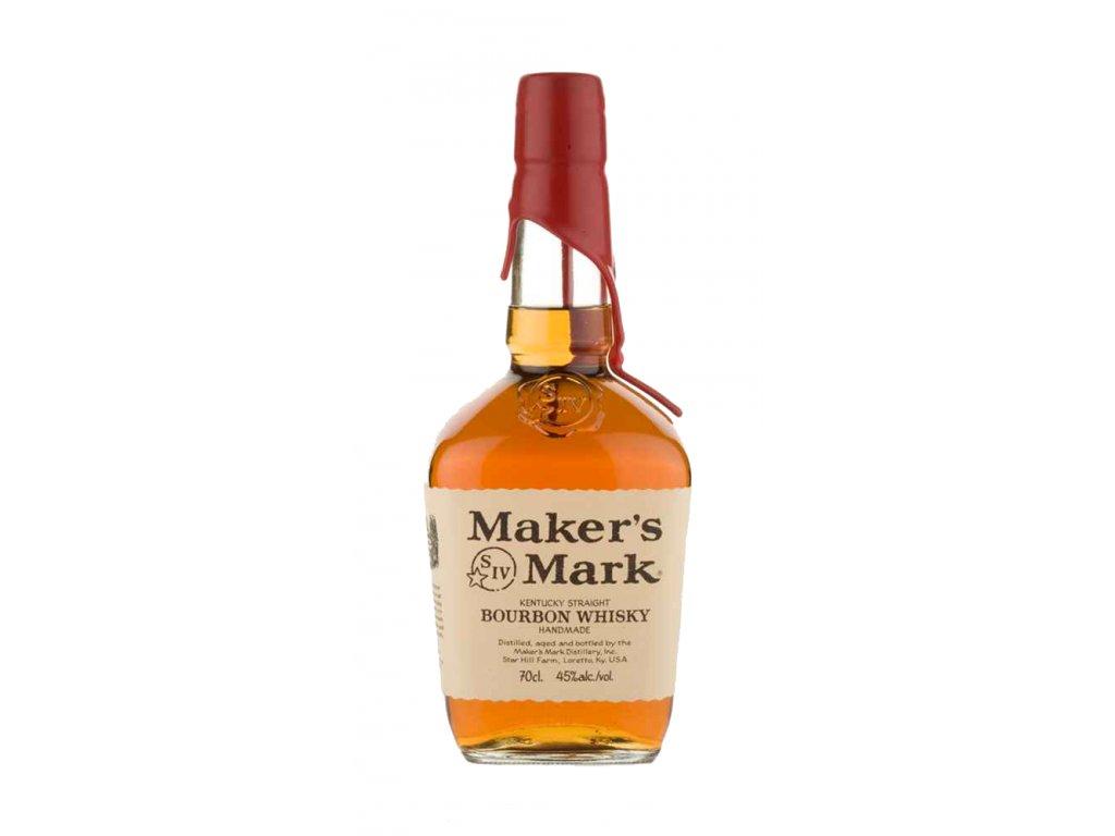 bourbon and Tennessee whiskey maker's mark bottle