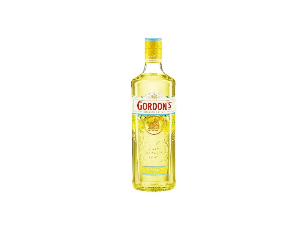 gin gordons sicilian lemon espirits