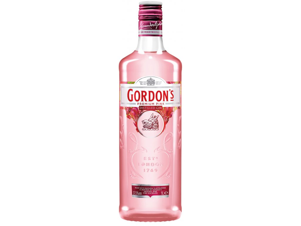 gin gordons premium pink 1l