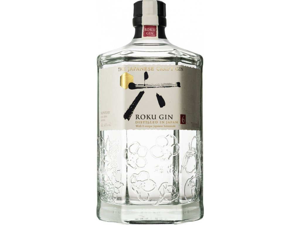 gin roku japanesse craft gin espirits