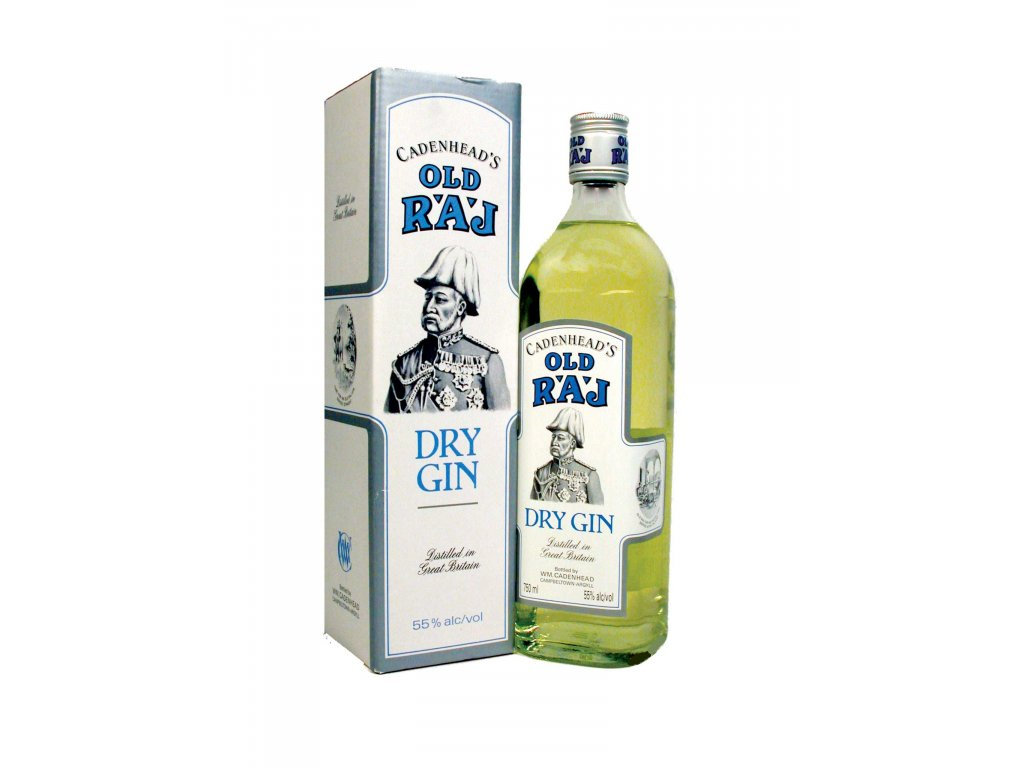 old raj dry gin 55 giftbox