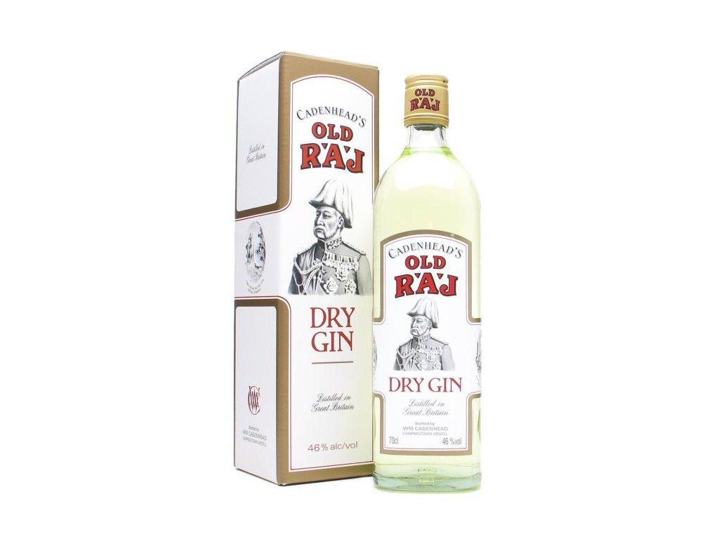 old raj dry gin 46 giftbox
