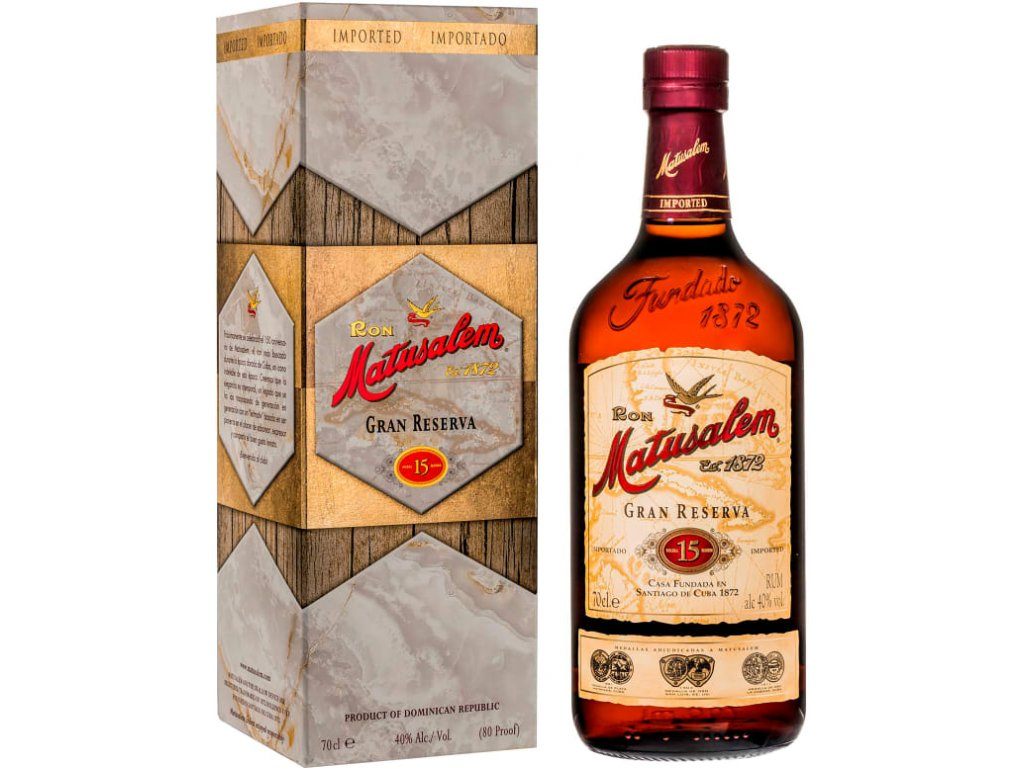 rum matusalem 15yo giftbox