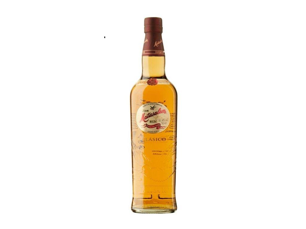 rum matusalem classico solera blend 10 yo bottle