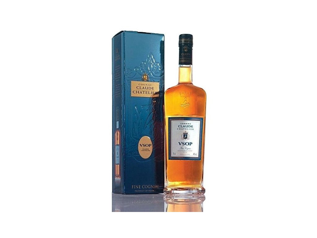 konak cognac claude chatelier vsop giftbox