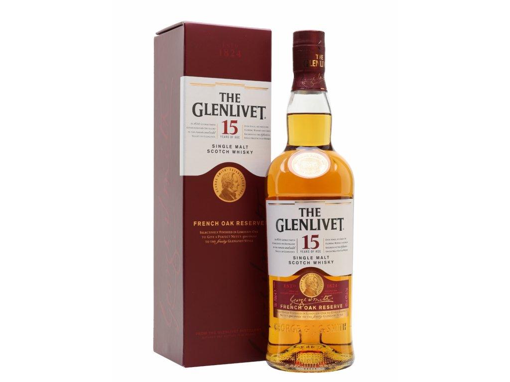 whisky glenlivet 15 YO