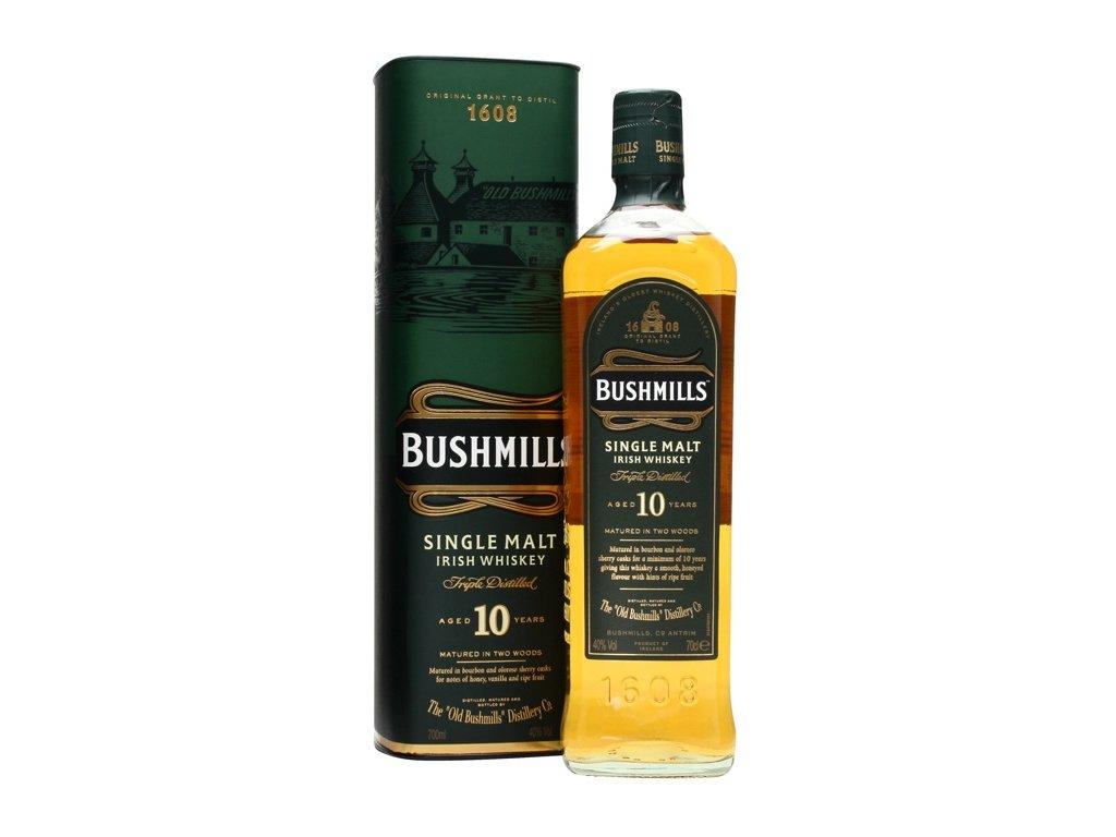 irska irish whiskey bushmills 10 yo giftbox