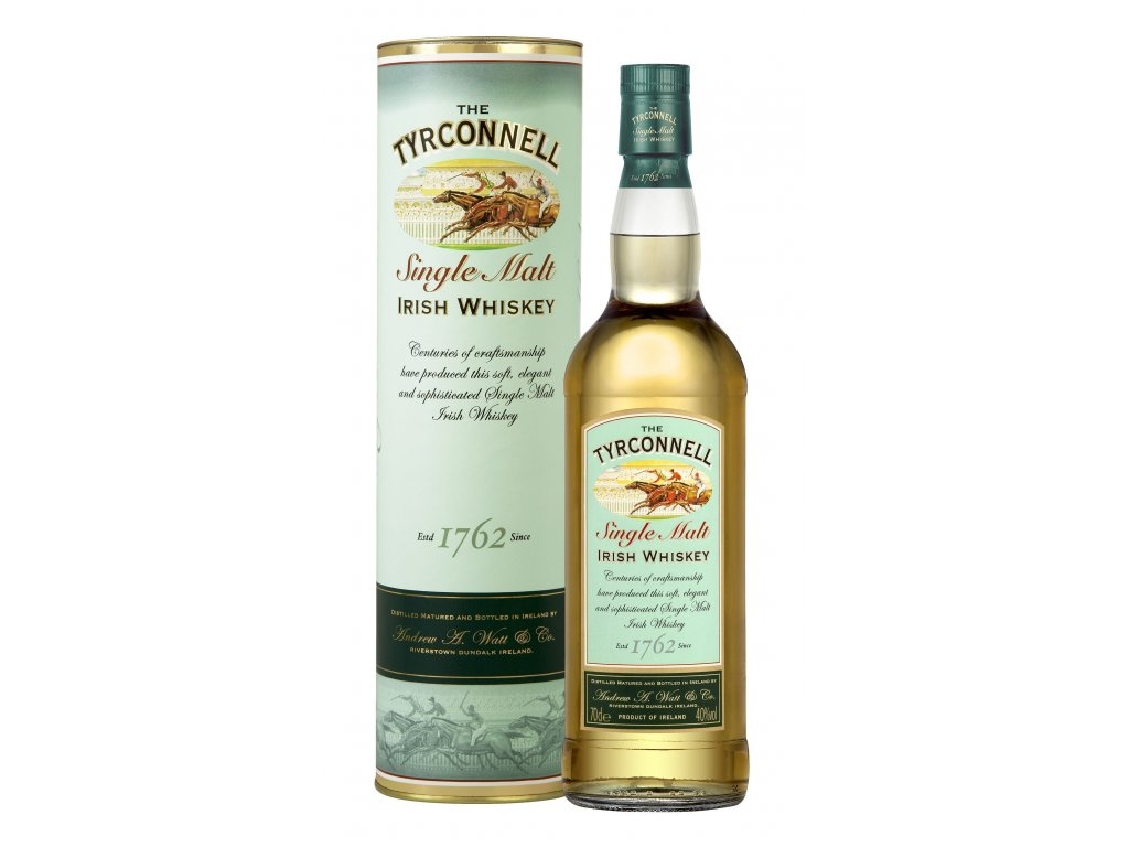 irska irish whiskey tyrconnell single malt giftbox