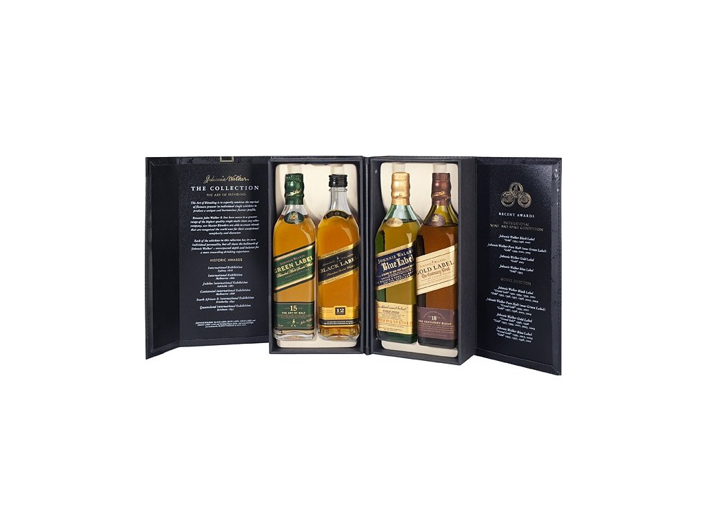 blended whisky Johnnie walker collection darkove baleni