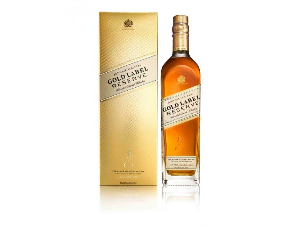 blended whisky Johnnie walker 18 gold reserve giftbox