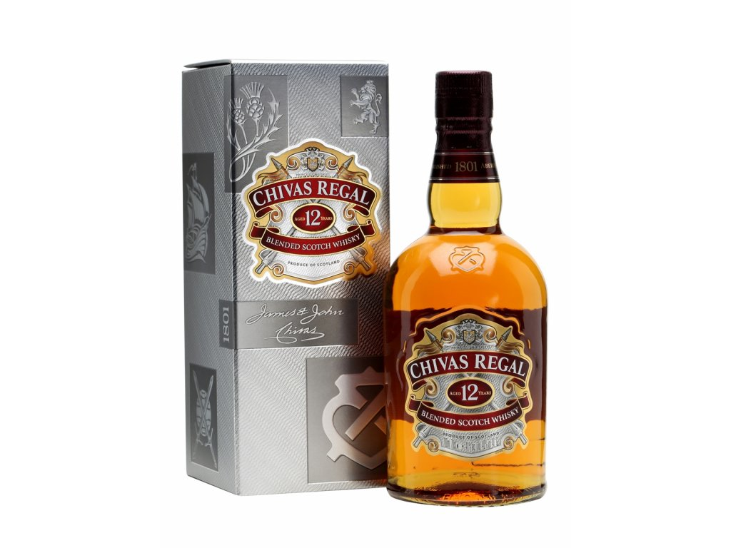 blended whisky chivas regal 12 yo giftbox