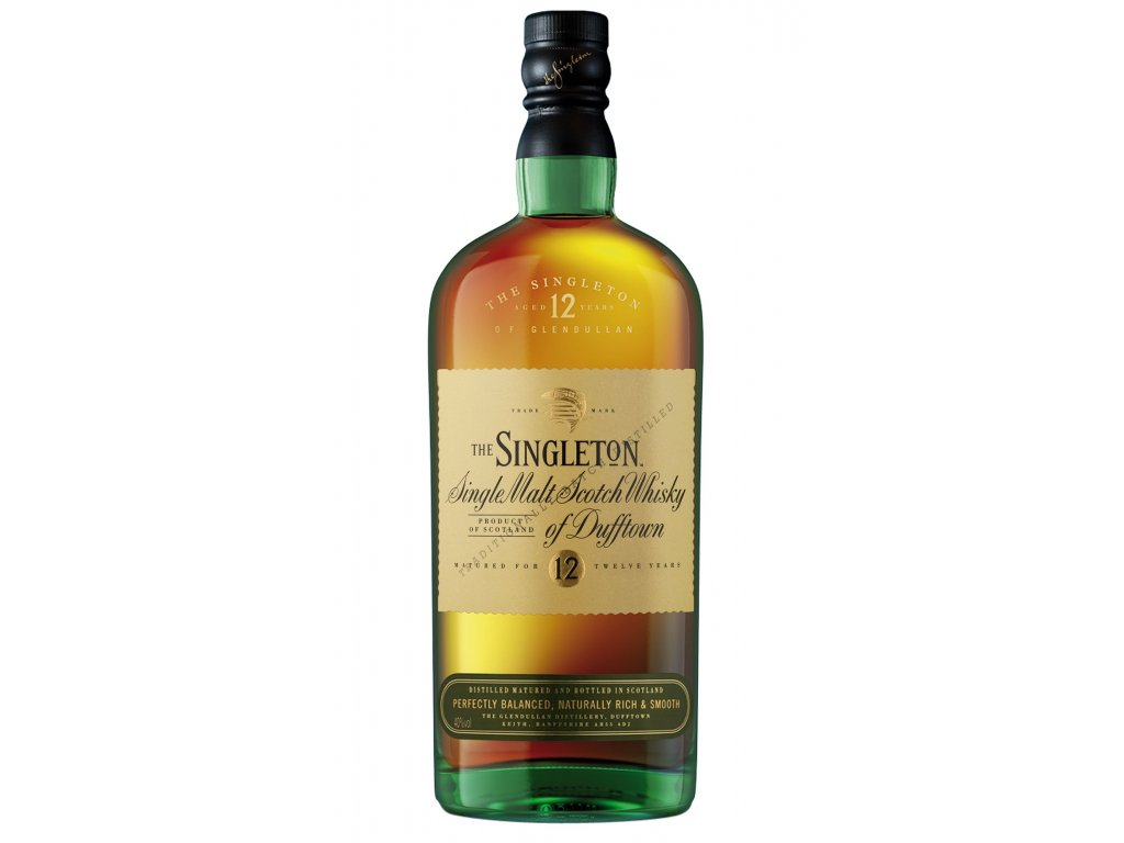 skotska single malt whisky singleton of dufftown bottle