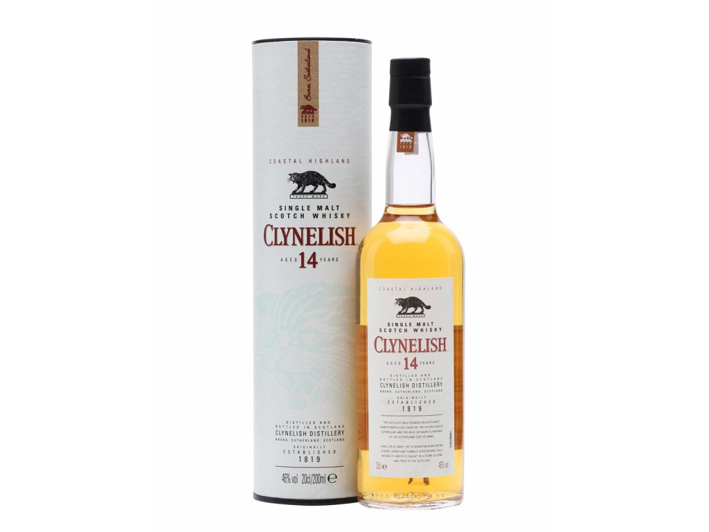 skotska single malt whisky clynelish 12 yo giftbox