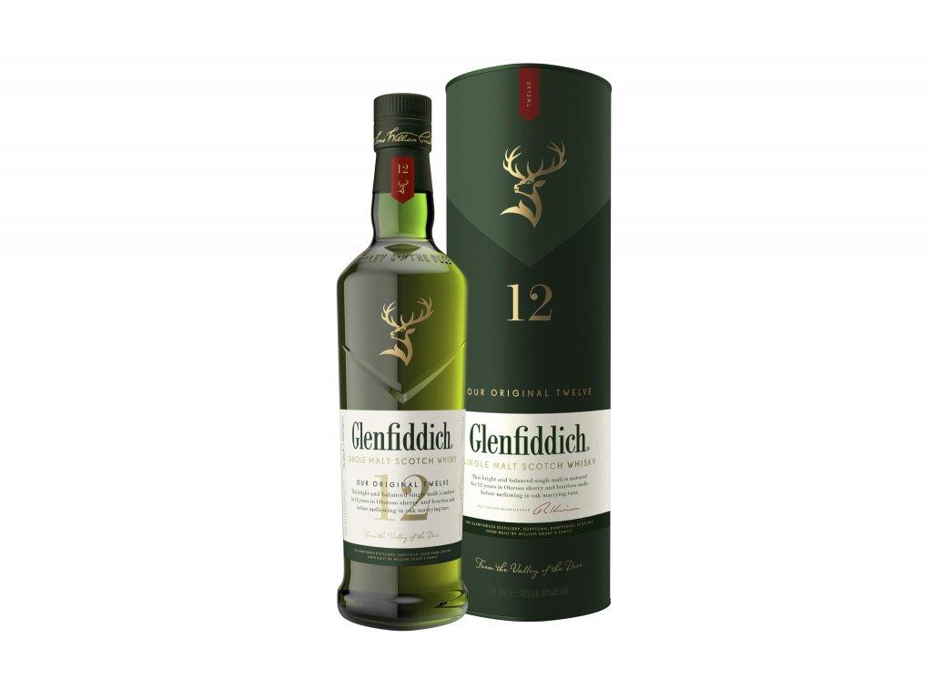 whisky glenfiddich 12yo gb .