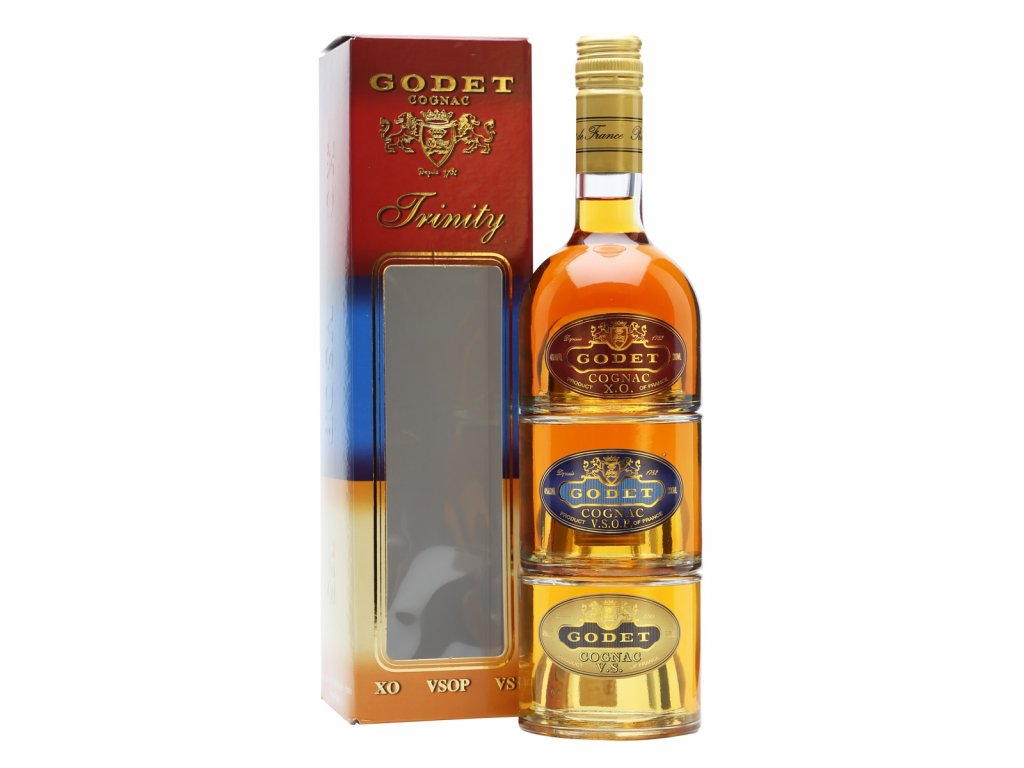 konak cognac godet trinity giftbox