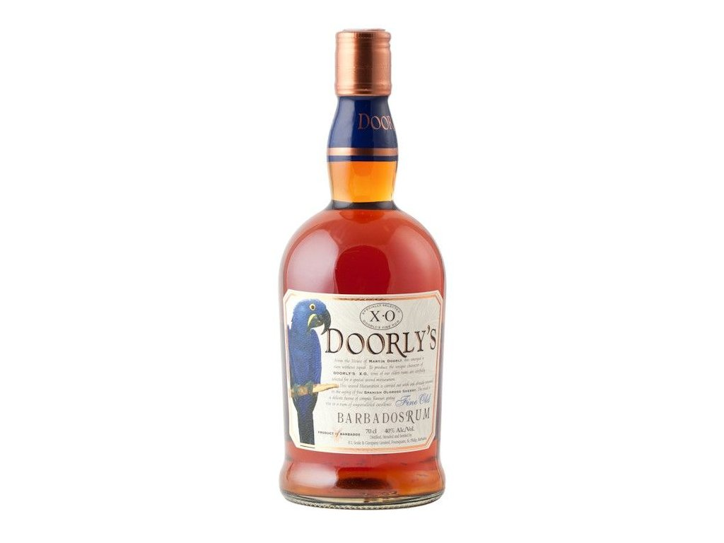 rum doorly's xo bottle