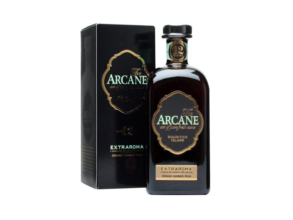 rum arcane 12 yo extra aroma giftbox