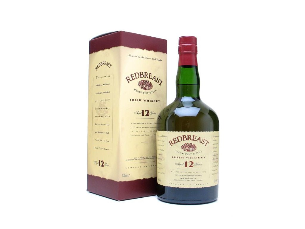 irska irish whiskey redbreast 12 yo giftbox