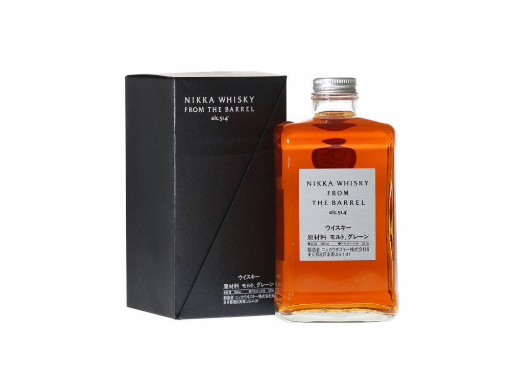 japonska whisky nikka from tahe the barrel giftbox