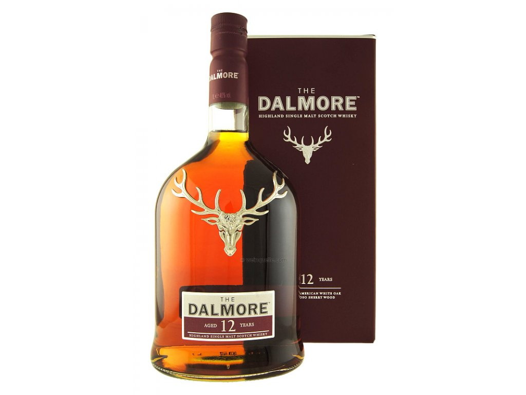 skotska single malt whisky dallmore 12 yo giftbox