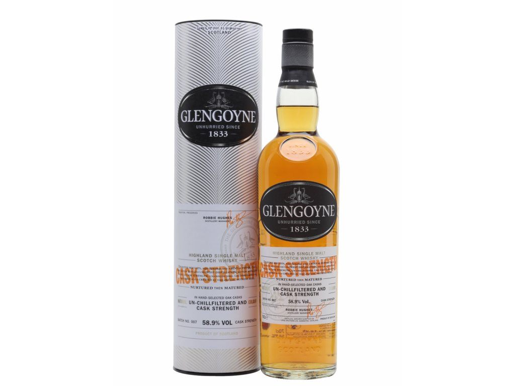 whisky glengoyne cask strength 589 espirits
