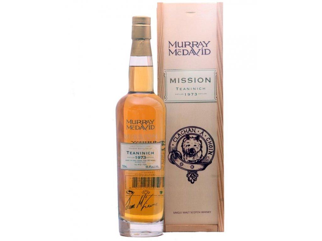 skotska single malt whisky Teaninich 33 yo giftbox