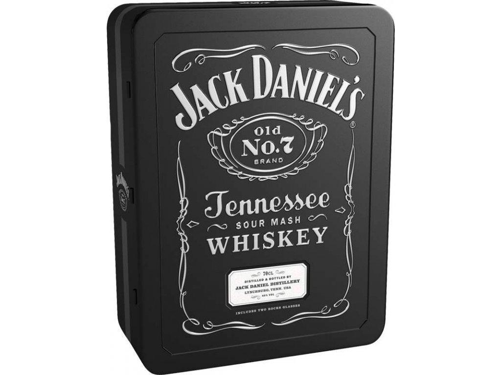 jack daniels glasses giftbox
