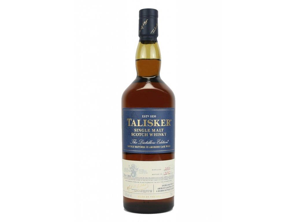 skotska single malt whisky talisker distillers edition