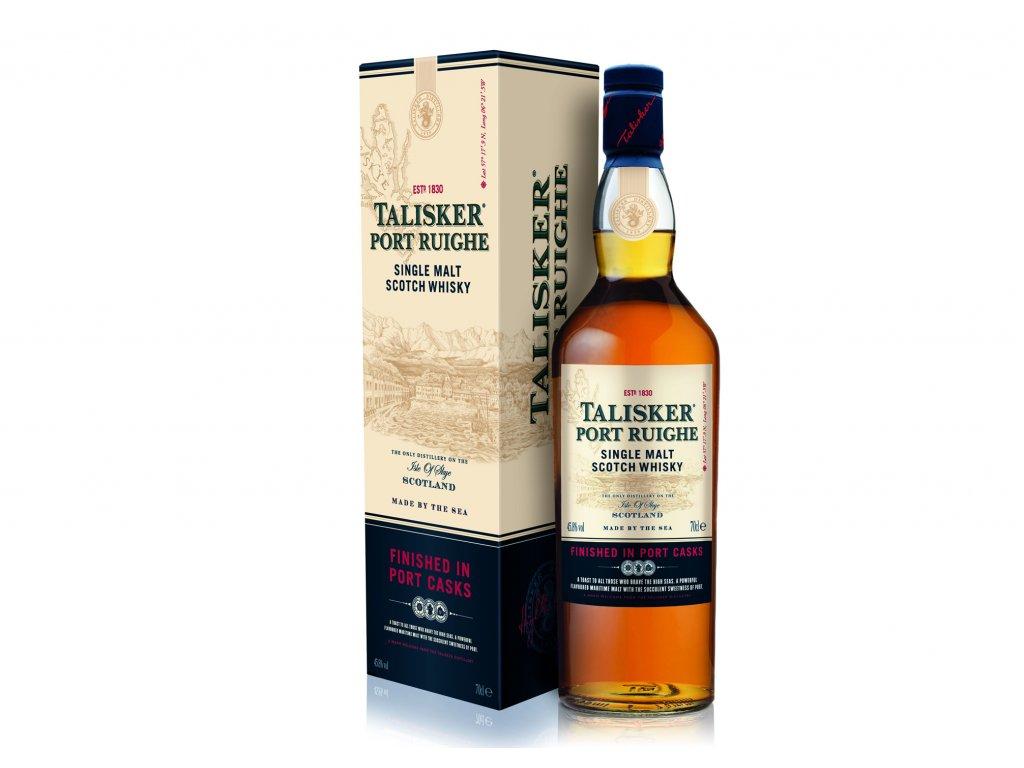 skotska single malt whisky talisker porth ruighe giftbox
