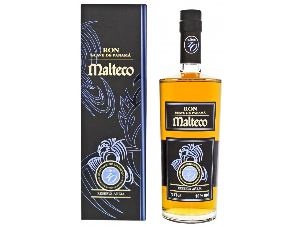 rum malteco 10yo box espirits cz
