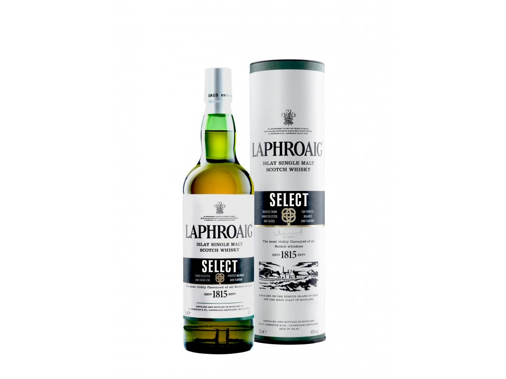 skotska single malt whisky laphroaig select giftbox