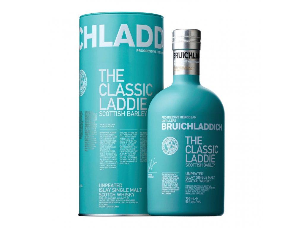 skotska single malt whisky bruichladdich the classic laddie giftbox