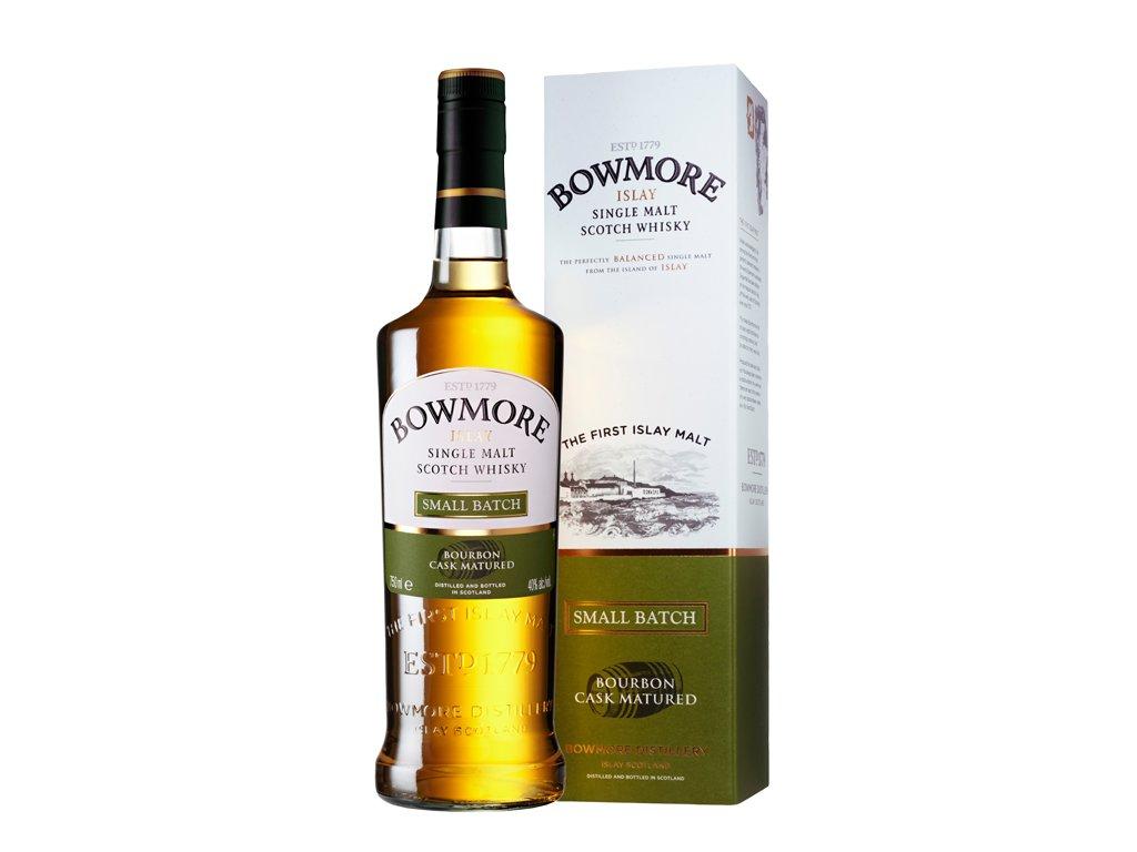 skotska single malt whisky bowmore small batch giftbox