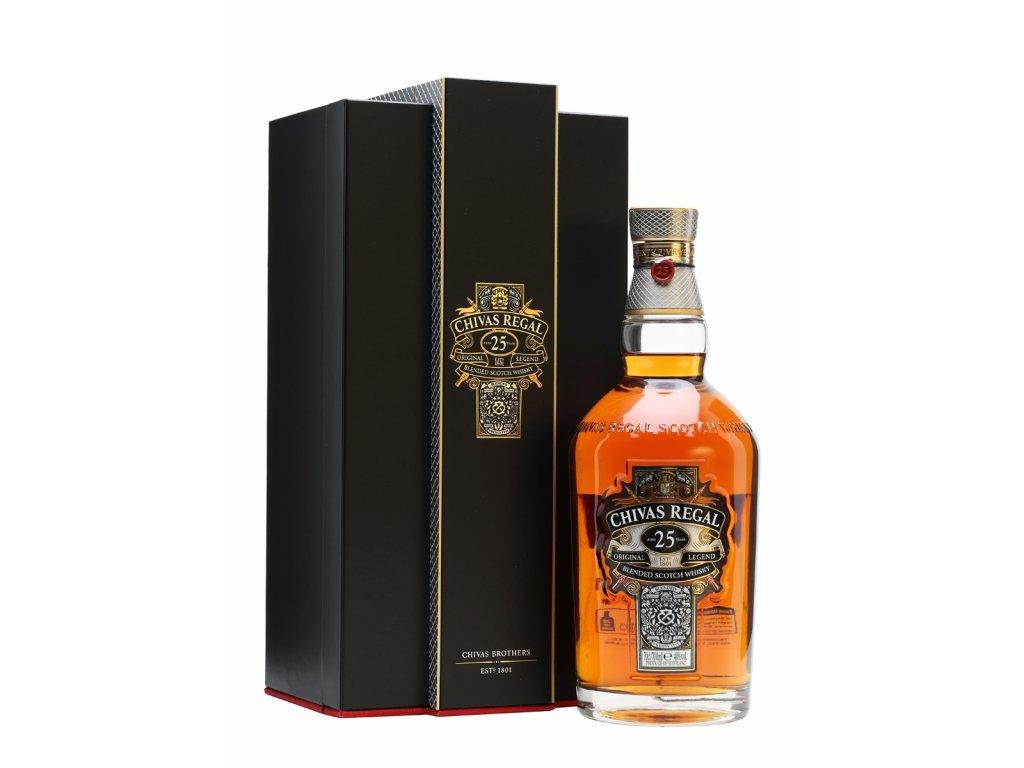 blended whisky chivas regal 25 yo giftbox