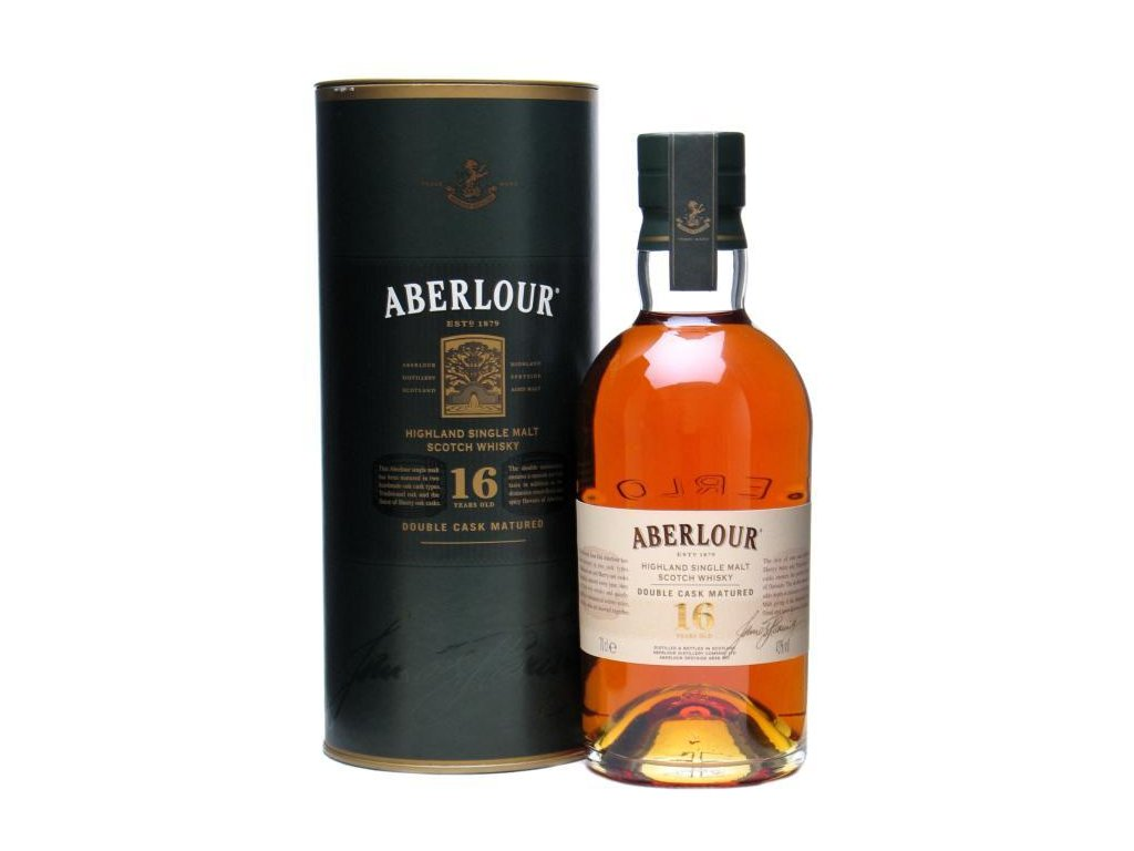 skotska single malt whisky aberlour 16 yo giftbox