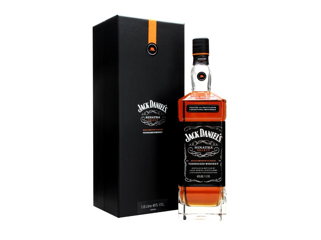 bourbon and Tennessee whiskey jack daniels Sinatra giftbox