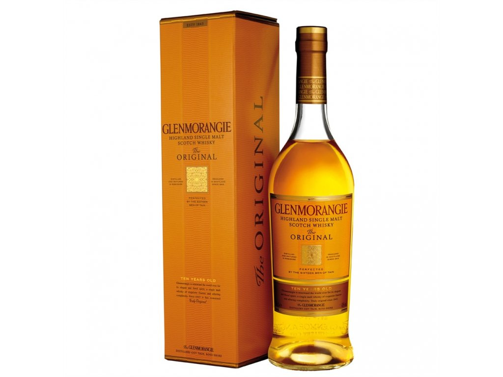 skotska single malt whisky Glenmorangie 10 yo 1.5 l giftbox