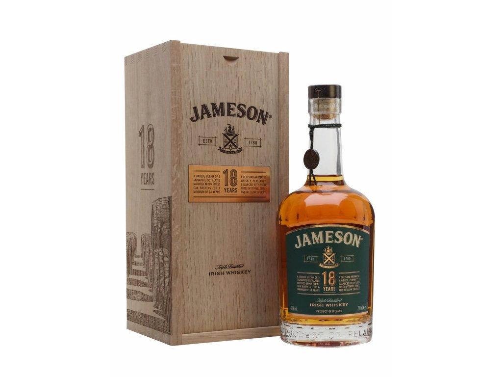 whiskey jameson 18yo
